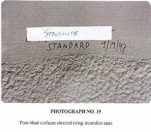 Personal Cleanliness Chart Cdc Evaluation Of Substitute Materials For Silica Sand