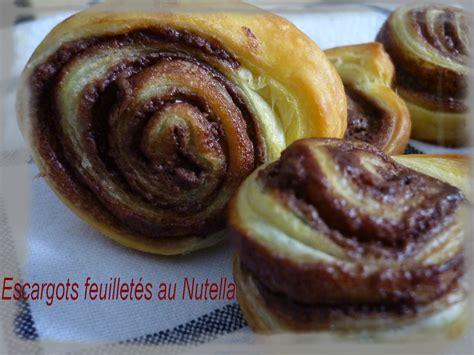 gateau pate feuilletee nutella escarcots feuillet 233 s au nutella la cuisine de framboisine
