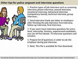Nurse Manager Job Interview Questions Police Sergeant Interview Questions