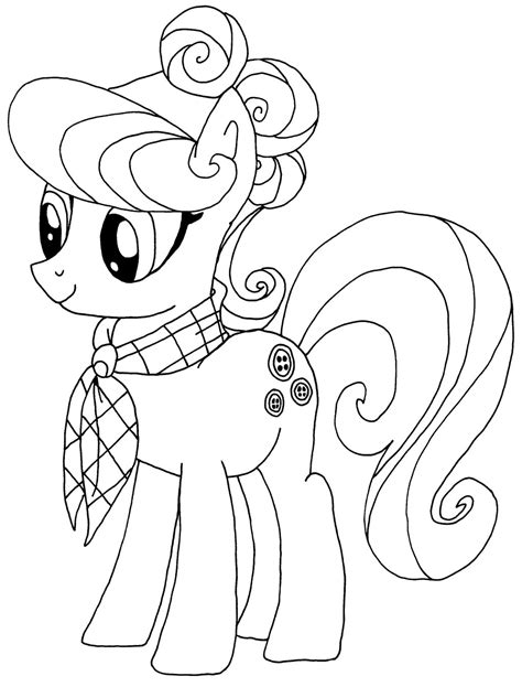 Top 30 My Little Pony Coloring Pages Printable 2017