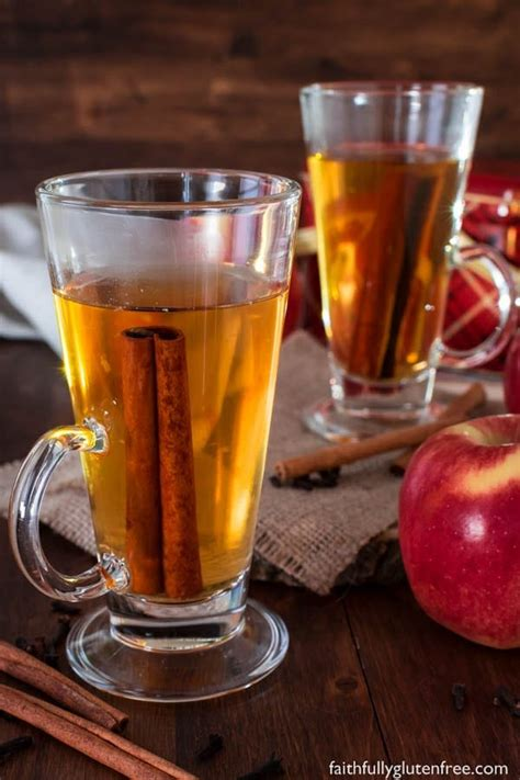 cider apple juice drink spiced recipe gluten recipes mulled drinks warm apples beverage holidays mug maker work mean press piece