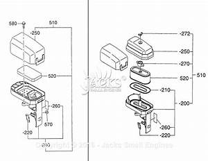 Robin  Subaru Ex21 Parts Diagram For Air Cleaner