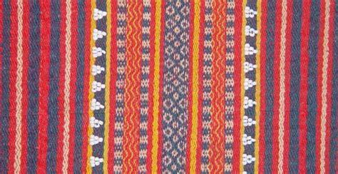 gaddang woven textile   highlands  northern luzon