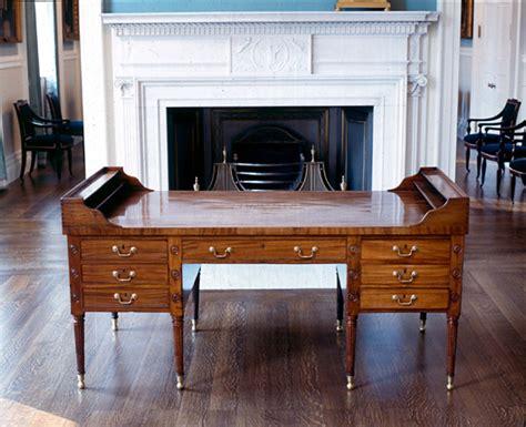 the city desk company mahogany george washington replica desk by kittinger