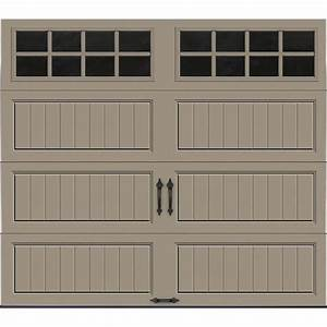 clopay gallery collection 8 ft x 7 ft 184 r value With 18 x 7 insulated garage door