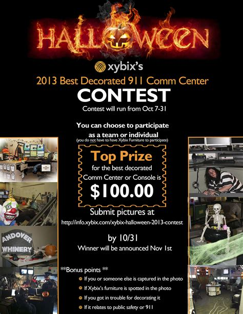 halloween door decorating contest flyer halloween door