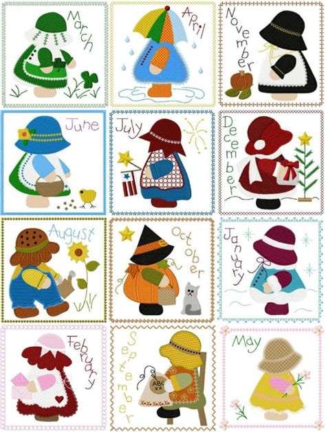 sunbonnet sue applique 922 best quilts sun bonnet sue images on