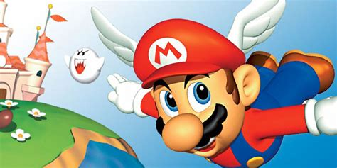 Super Mario 64: How to Get the Wing Cap   Game Rant