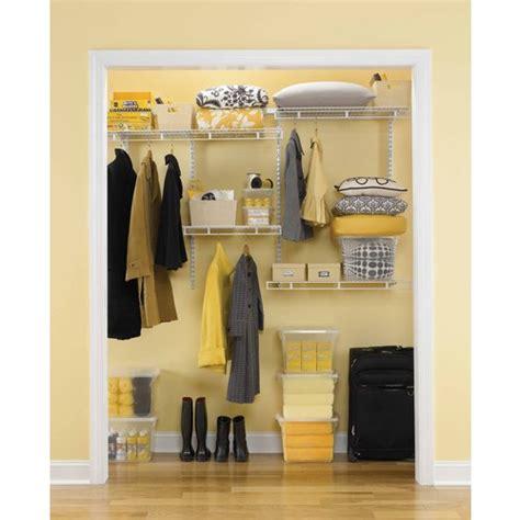 Lowes Rubbermaid Closet Kit by Rubbermaid White Wire Multi Purpose Closet Organizer Kit