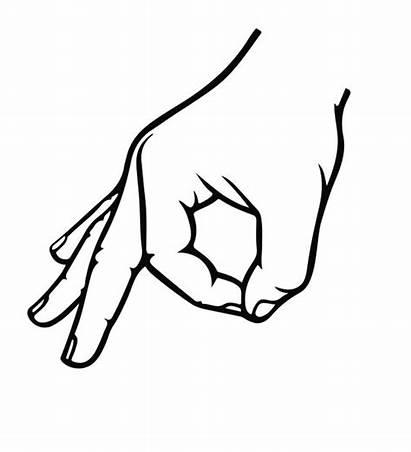 Hand Ok Sign Signal Decal Meme Waist