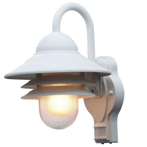 motion sensor light home depot newport coastal marina 110 degree outdoor white motion