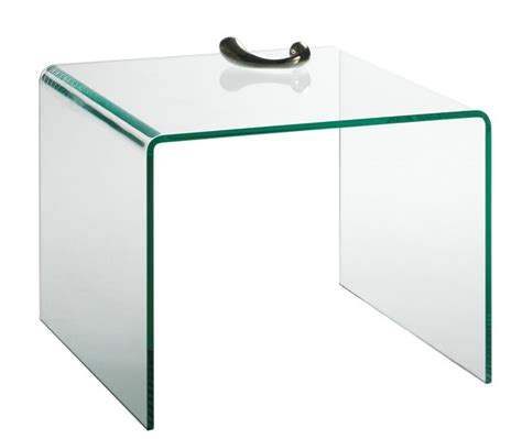 dunlopillo canape table d 39 appoint design en verre manhattan motard