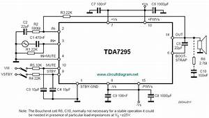 Scematic Diagram Panel  200w Ampli Schematic With Tda