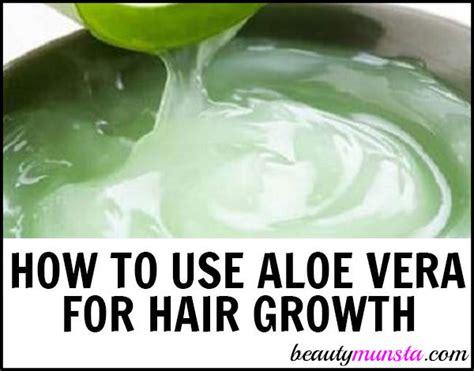 diy aloe vera hair growth recipes for stunning tresses