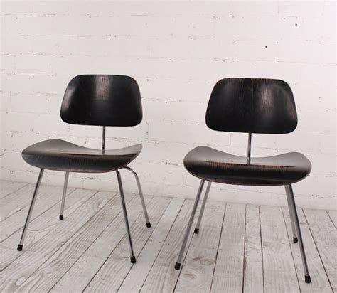 2 x DCM Chair by Ray & Charles Eames for Herman Miller ...