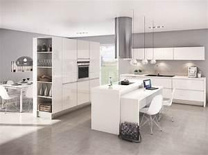 modele de cuisine ouverte sur salon super plan cuisine With attractive meuble pour separer cuisine salon 12 comment amenager et decorer la salle de sejour