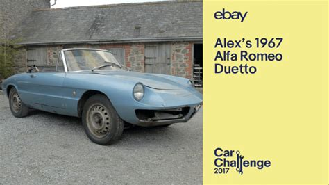 Alfa Romeo On Ebay by Classic Car Restoration Challenge Returns With The 2017