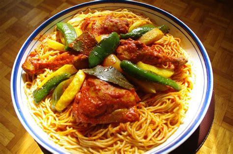 cuisine tunisienne makrouna pasta tunisian food tunisian recipe
