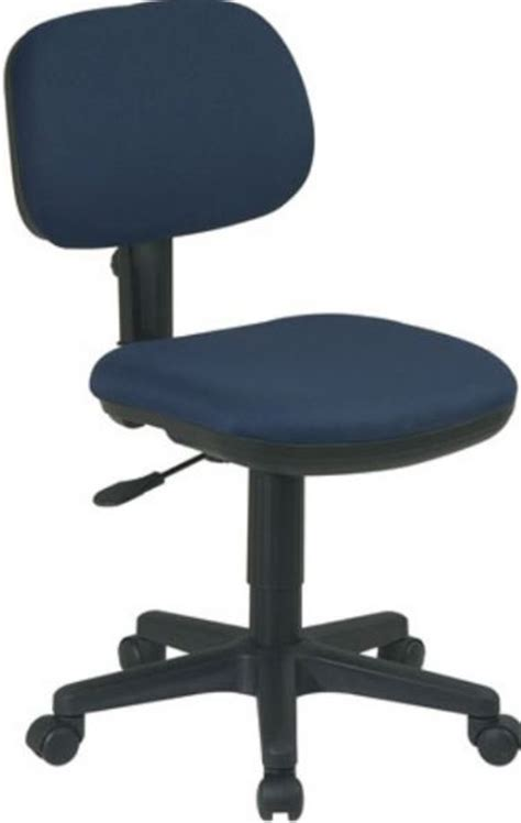 office sc117 basic task chair thick padded seat and