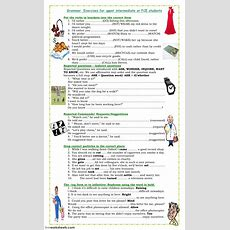 Fce And Upper Intermediate Exercises  Interactive Worksheet