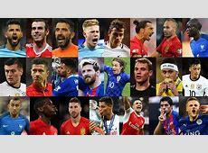 Best FIFA Men's Player 2016 Ten LaLiga footballers on