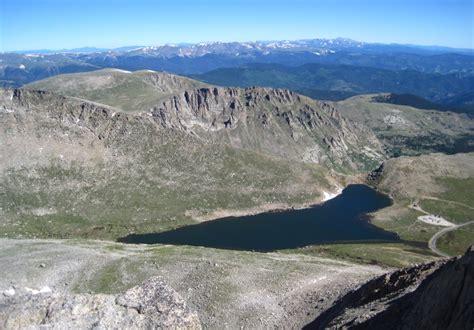 mt evans colorado hike   climb  guanella pass