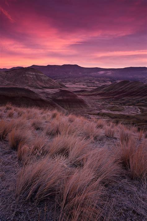 sunrise painted hills oregon  zva photo weather