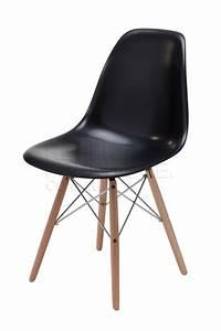 Eames Lounge Chair Replica : replica charles eames chair wooden legs with steel cross ~ Michelbontemps.com Haus und Dekorationen