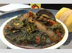 Editan Soup Recipe Nigerian Dishes Galleria Health