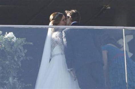 david ferrer  married nadal attends marc lopezs wedding pics