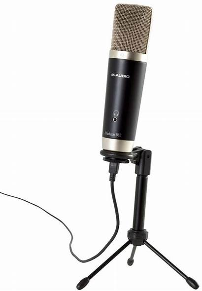 Audio Vocal Microphone Studio Usb Zzounds Package