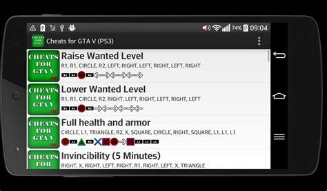 Cheats For Gta 5 (ps3) Apk Download