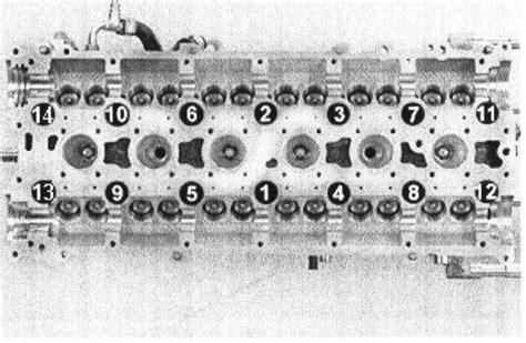 head bolt torque specifcations   volvo  turbo