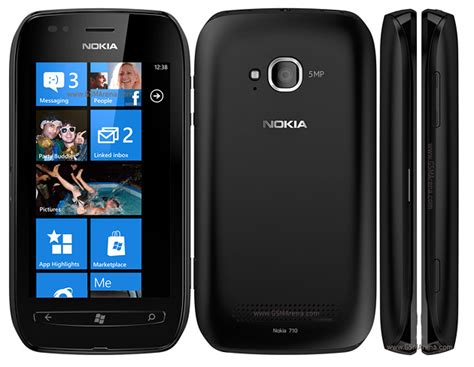 nokia lumia 710 8gb windows 7 smartphone for t mobile black fair condition used cell