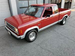 Immaculate 1988 Ford Ranger Xlt Super Cab  Rust