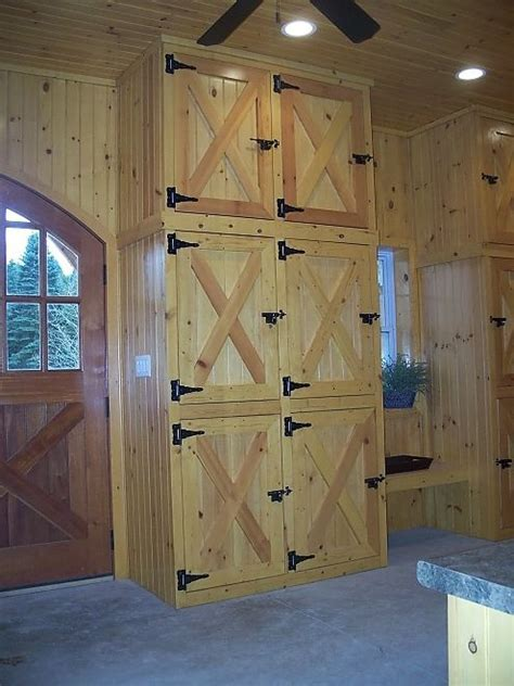 Tack room lockers/cabinets   Barn   Pinterest   Barns