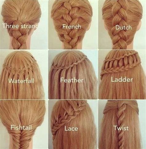 Different Types Of Hair by Different Braided Hairstyle Ideas Hair World Magazine
