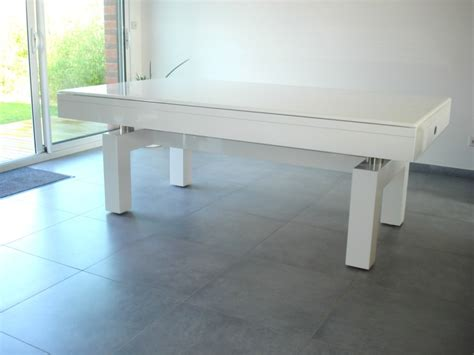 photo billard table table de billard laque blanc arcade metropole lilloise