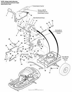Simplicity 1693038 - Coronet  14hp Hydro Parts Diagram For Transmission Controls