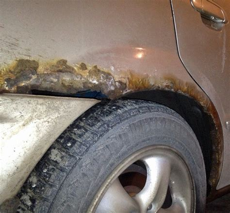 rust body rusted repair panels hole corrosion parts autoguide through should replacement