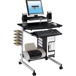 techni mobili rolling computer desk graphite walmart com