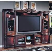 flat screen entertainment center Parker House Kensington Entertainment Center for Flat ...