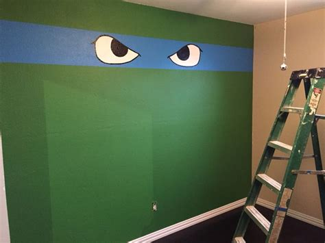 17 Best Ideas About Ninja Turtle Room On Pinterest