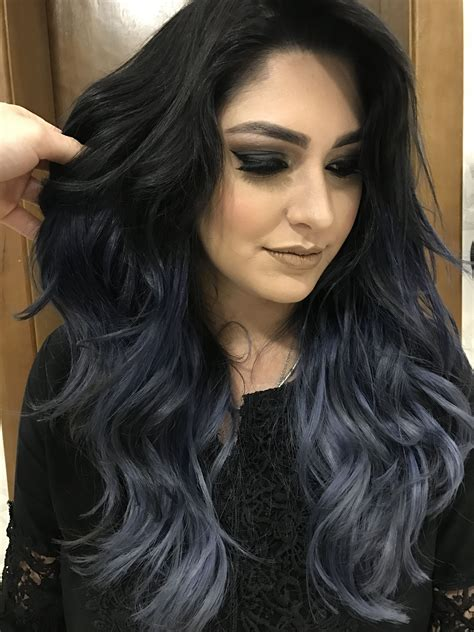 Hair Color For Black by Charcoal Hair Tend 234 Ncia Para Um Visual Estiloso Aposte