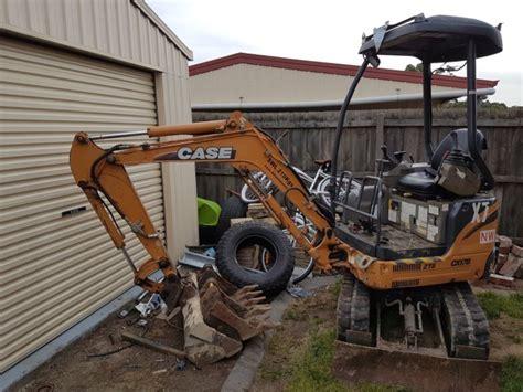 case cxb mini excavator    hrs   kobelco  sale  australia