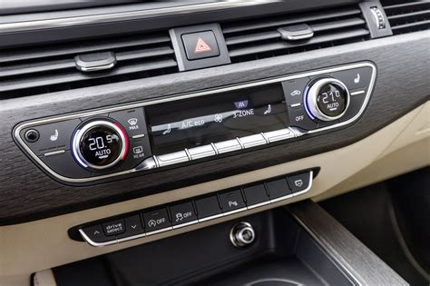 First Edition 2017 Audi A4 Interior