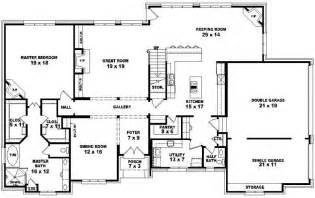 2 bedrooms house plans karnataka style - 5 Bedroom 4 Bathroom House Plans