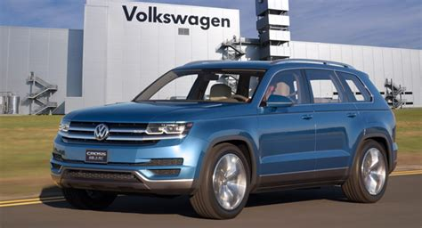 volkswagen usa vw confirms all new mid size suv for production in the usa