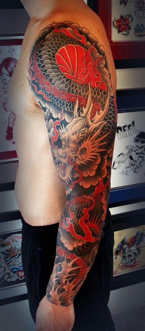 idees tatouage dragon japonais mythologie