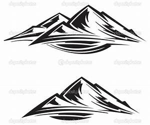 11 Mountains Vector Clip Art Collections Images - Mountain ...